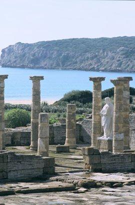 Vistas de las ruinas de Baelo Claudia en Bolonia / Foto: Web Junta de Andalucía